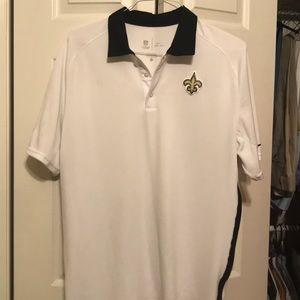 New Orleans Saints Nike Dri-Fit Polo